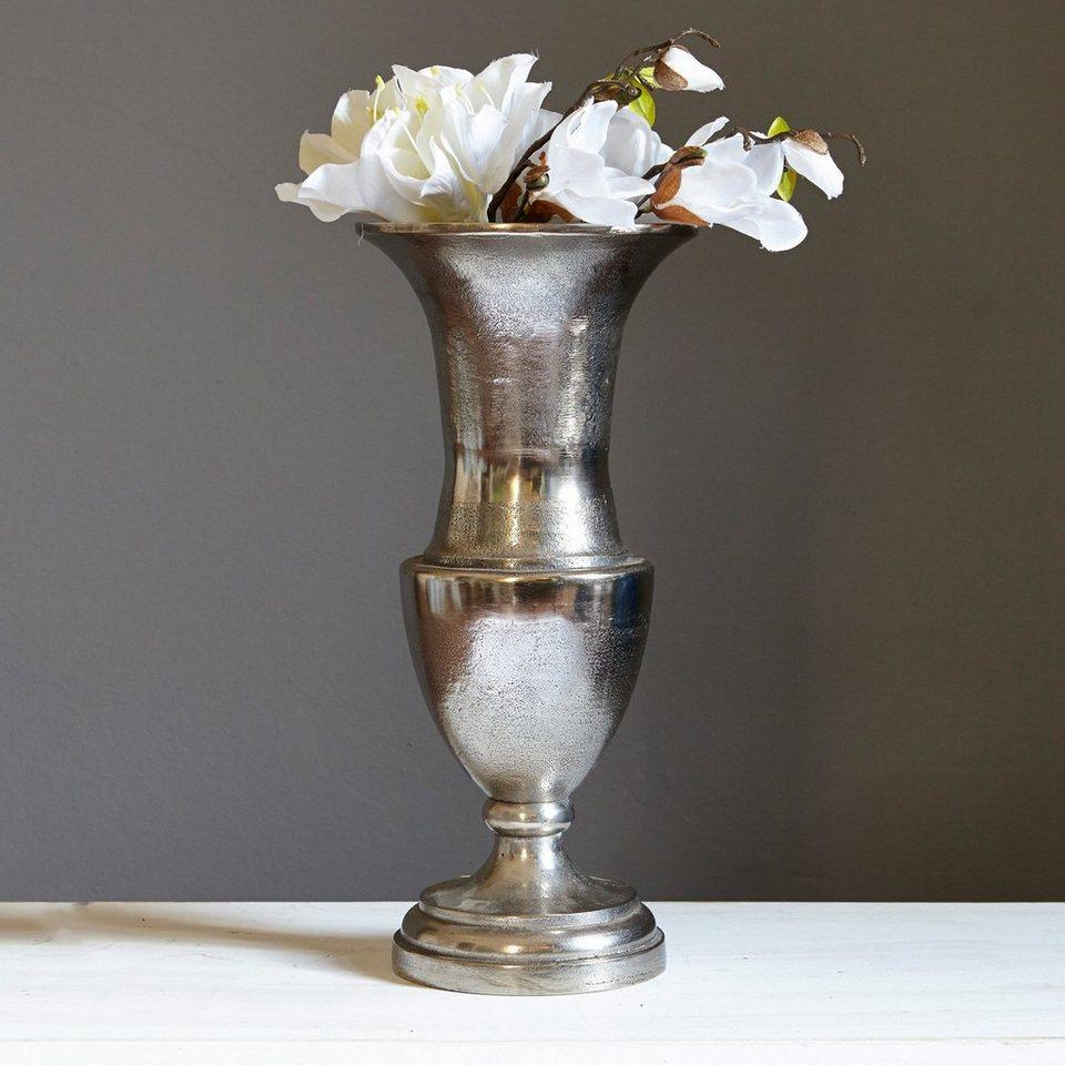 Loberon Vase »Gilberta« in antiksilber