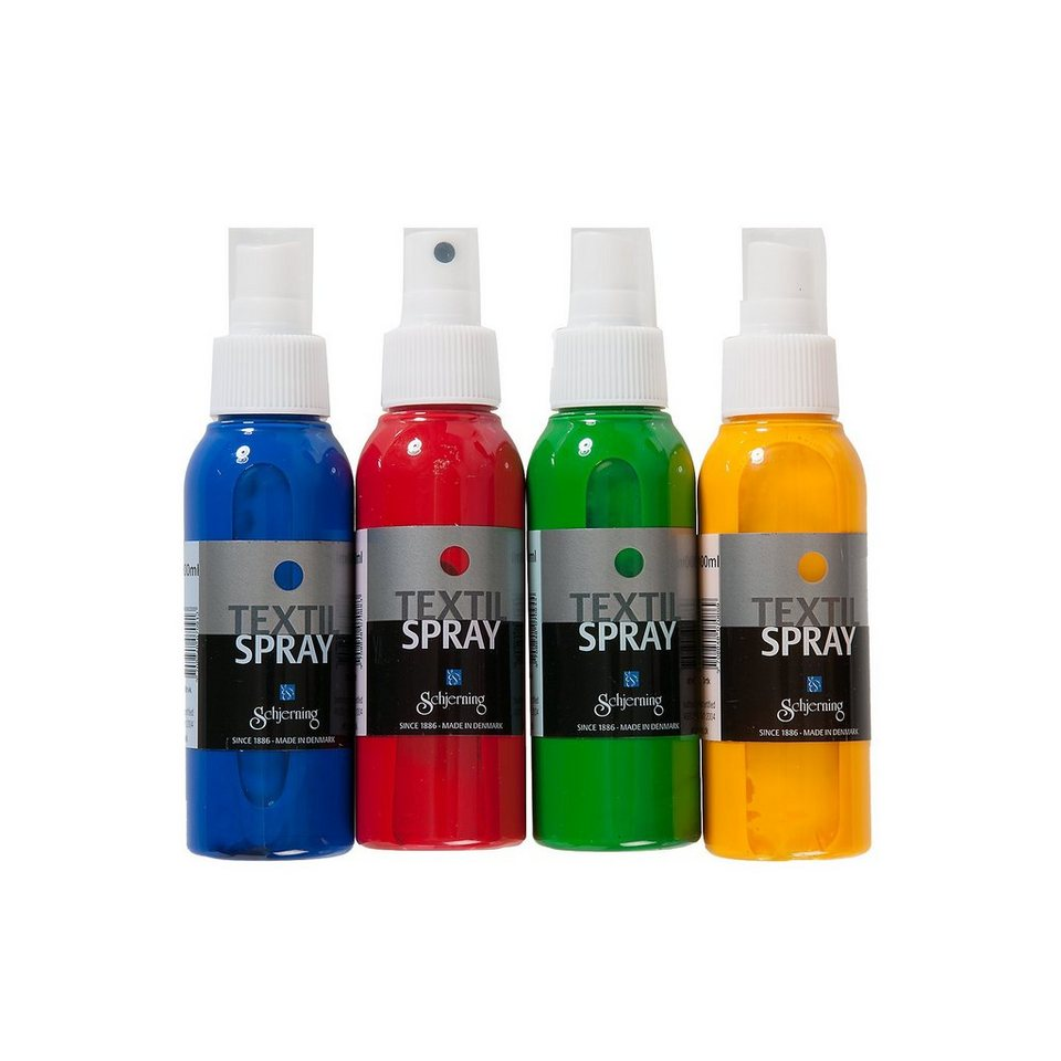 Eduplay Textilspray 400 ml, 4 Farben