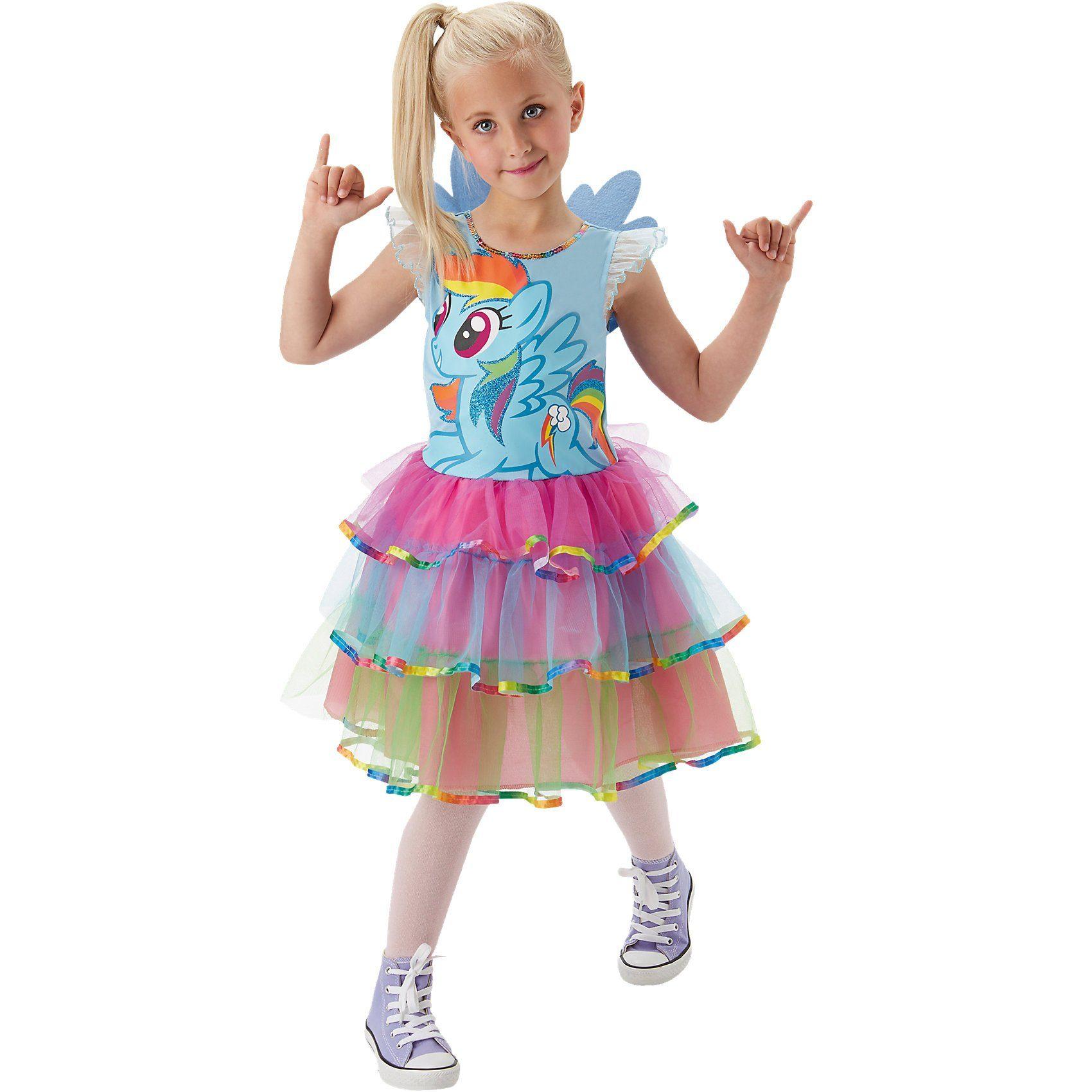 Rubie´s Kostüm My Little Pony Rainbow Dash Gr. S