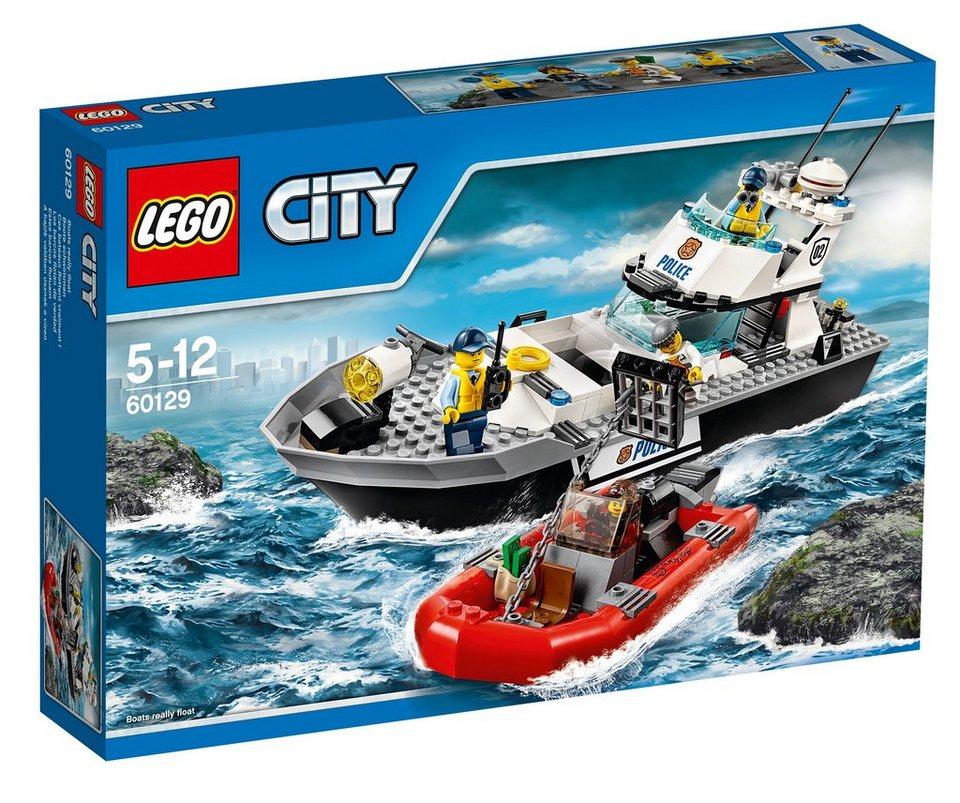 LEGO® Polizei-Patrouillen-Boot (60129), »LEGO® City Police«