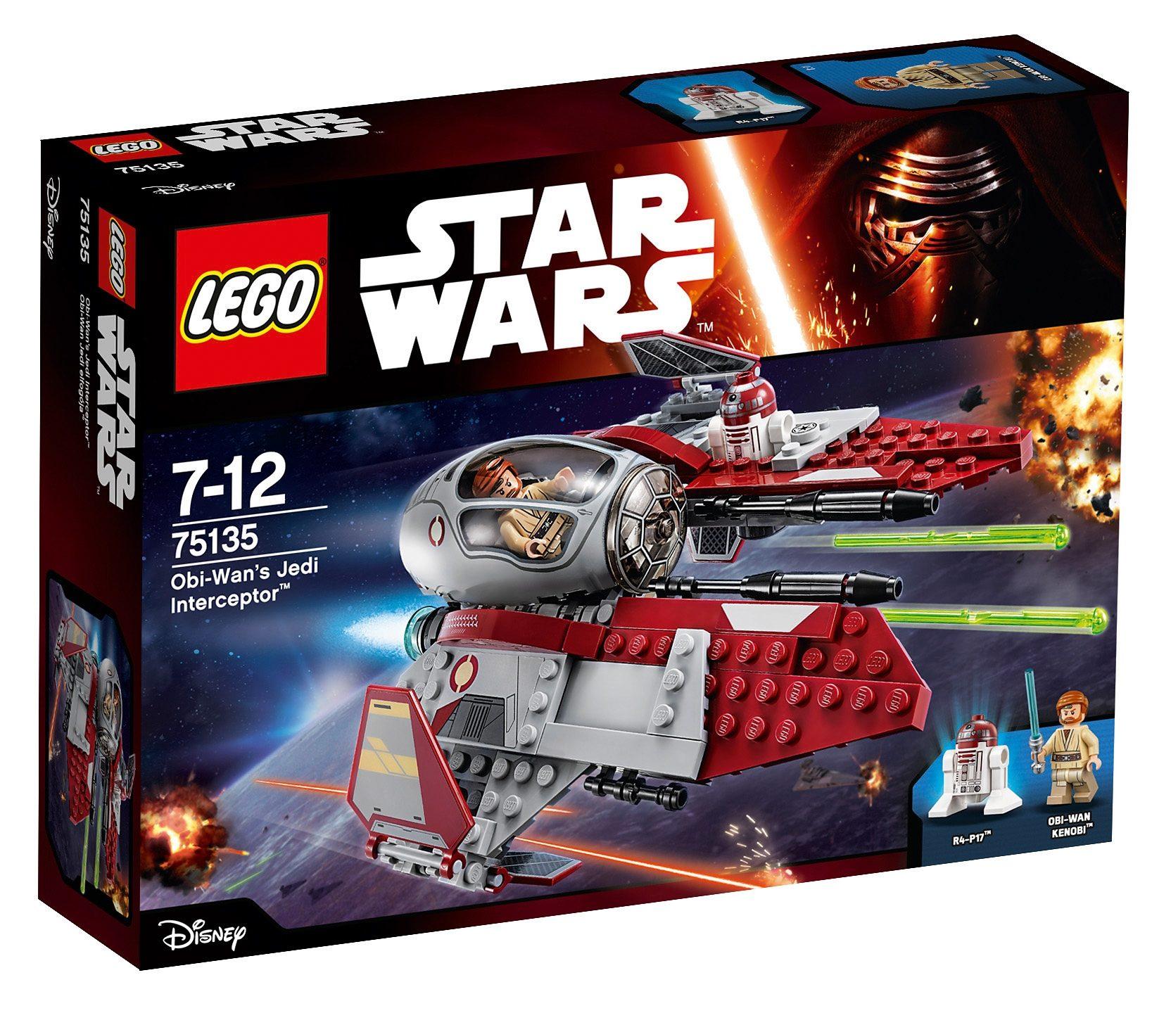 LEGO® Obi-Wan's Jedi Interceptor™ (75135), »LEGO® Star Wars™«