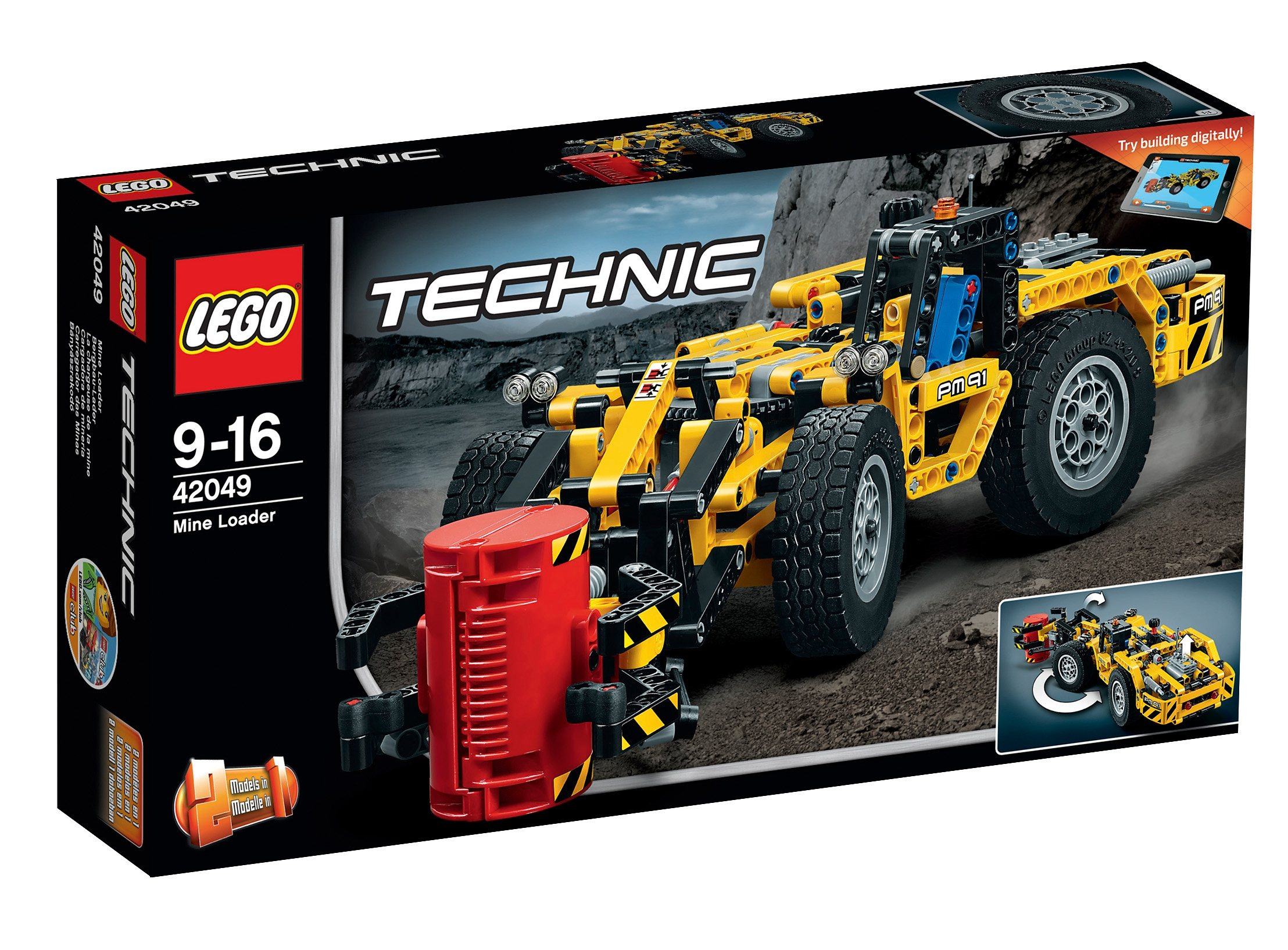 LEGO®, Bergbau-Lader (42049), »LEGO® Technic«