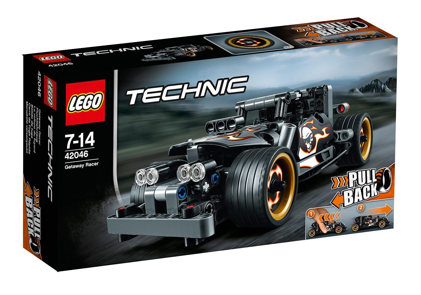 LEGO®, Fluchtfahrzeug (42046), »LEGO® Technic«