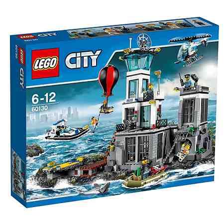 LEGO® Polizeiquartier auf der Gefängnisinsel (60130), »LEGO® City Police«