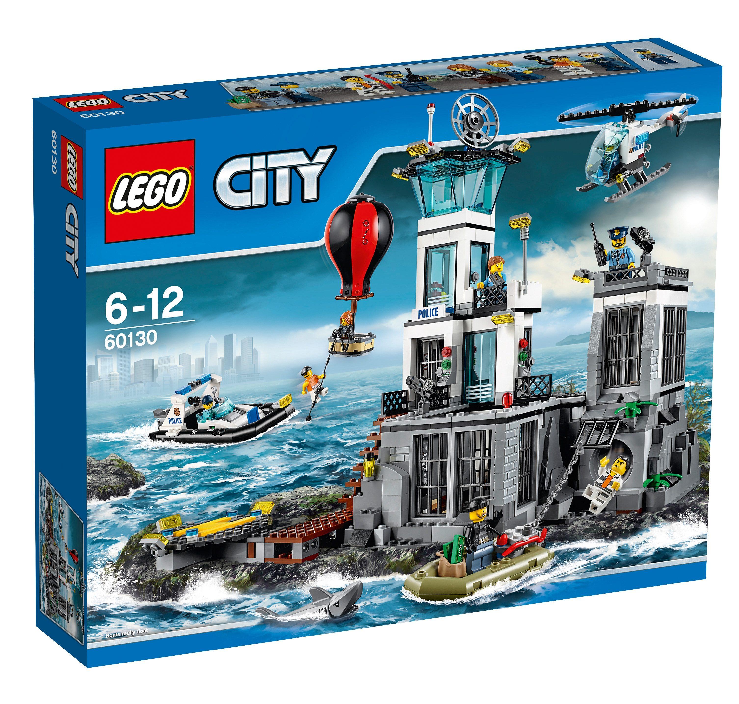 LEGO®, Polizeiquartier auf der Gefängnisinsel (60130), »LEGO® City Police«