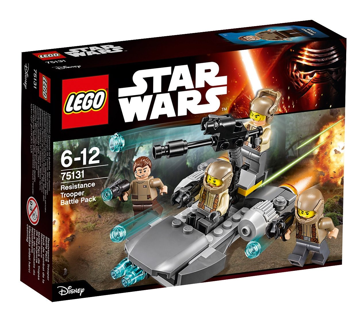 LEGO®, Resistance Trooper Battle Pack (75131), »LEGO® Star Wars™«