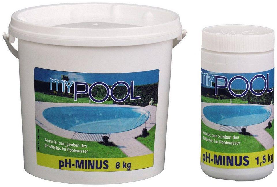 pH-Minus »MY ph - Minus 7,5 kg« in weiß