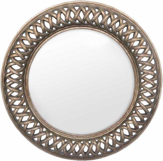 Home affaire Spiegel »Lancaster Circular«, Ø 112,5 cm in zinnfarben