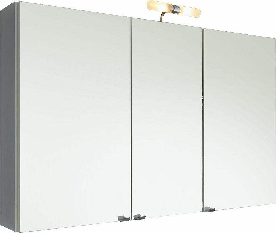 Posseik Spiegelschrank »Anton« mit Beleuchtung in weiß