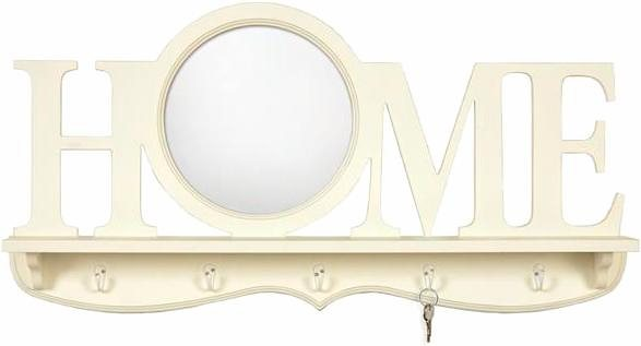 Home affaire Spiegel »Casa Vintage Home Mirror«, 80/40 cm in weiß