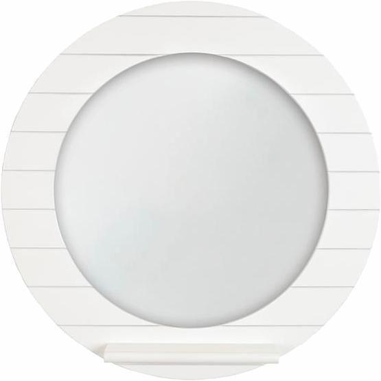 Home affaire Spiegel »Beachcomber« rund, Ø 55 cm in weiß