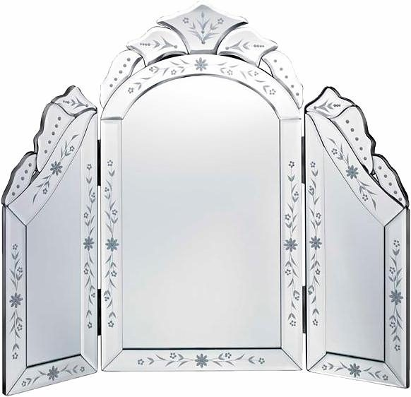 Home affaire Spiegel »Venetian Dressing Table Mirror«, 57/52 cm