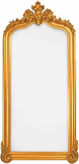 Home affaire Spiegel »Blenheim«, 96/218 cm in gold