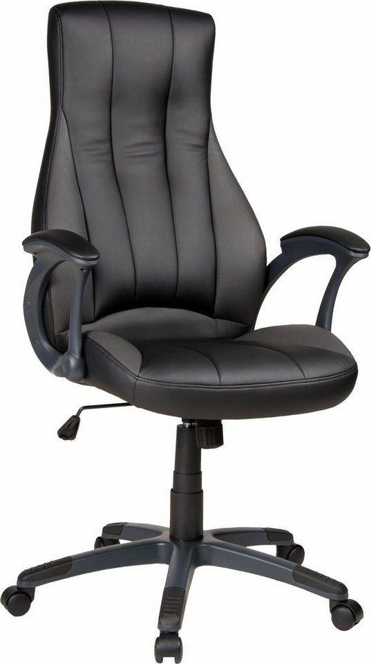 DUO Collection Chefsessel »Shell« in schwarz-anthrazit