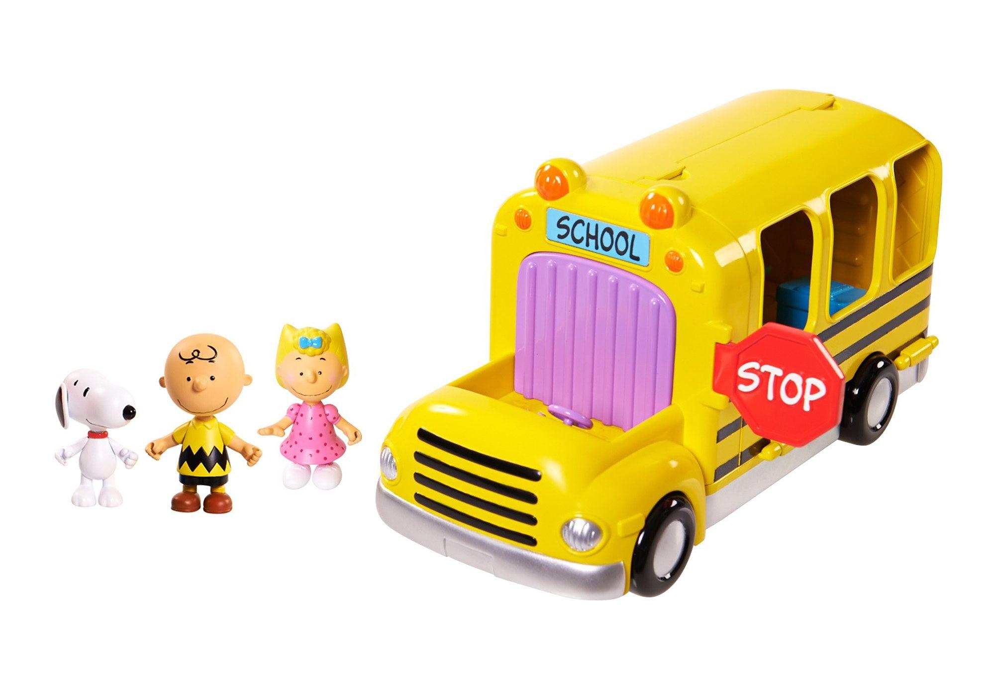 IMC Toys 2 in 1 Schulbus mit Figuren, »Peanuts«