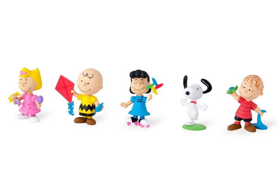 IMC Toys Set Sammelfiguren (5-tlg.), »Peanuts«
