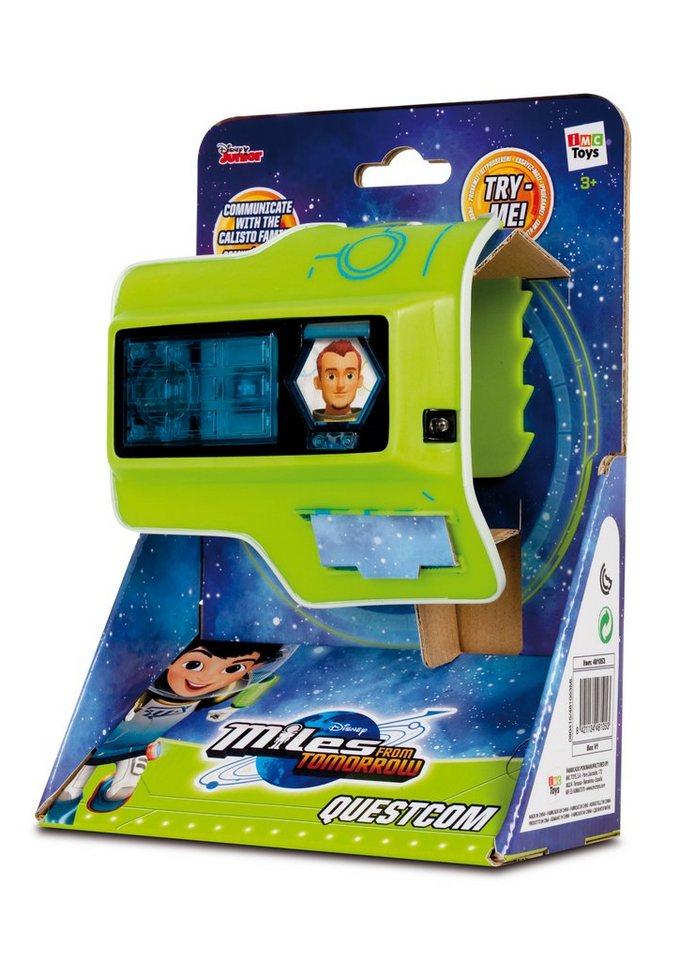 IMC Toys Armband mit Funktion, »Disneys Miles von Morgen - Questcom«