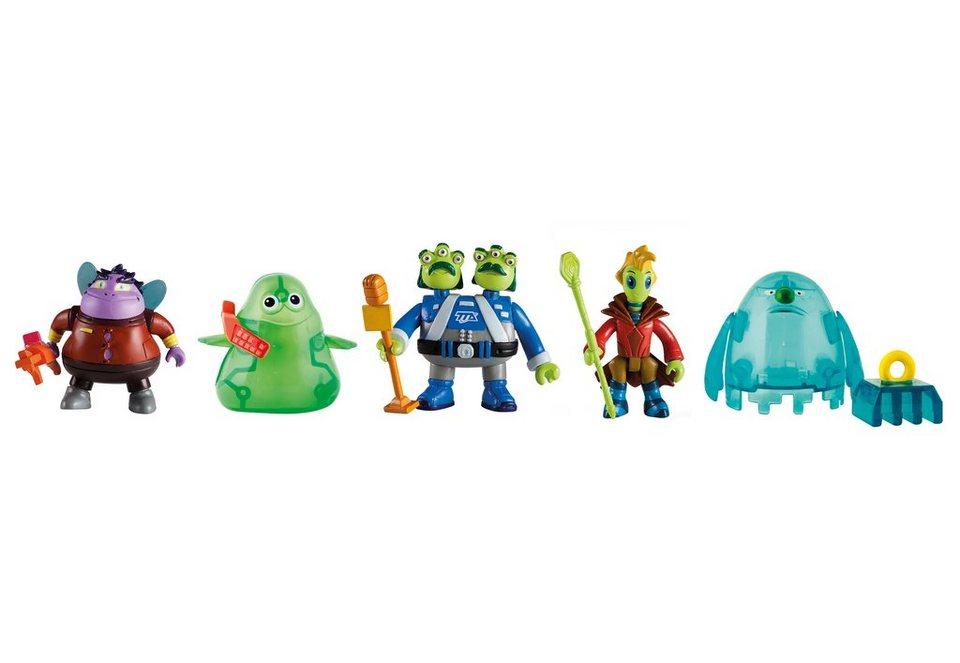 IMC Toys Spielfiguren, »Disneys Miles von Morgen - 5 Alien-Figuren« in blau