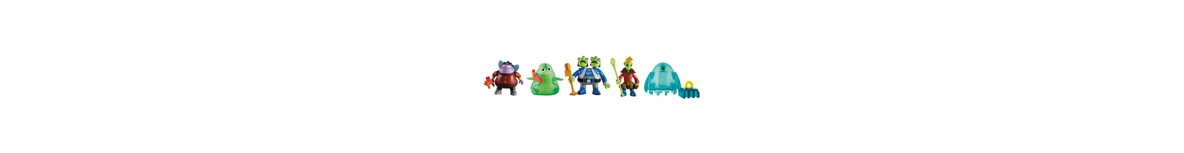 IMC Toys Spielfiguren, »Disneys Miles von Morgen - 5 Alien-Figuren«