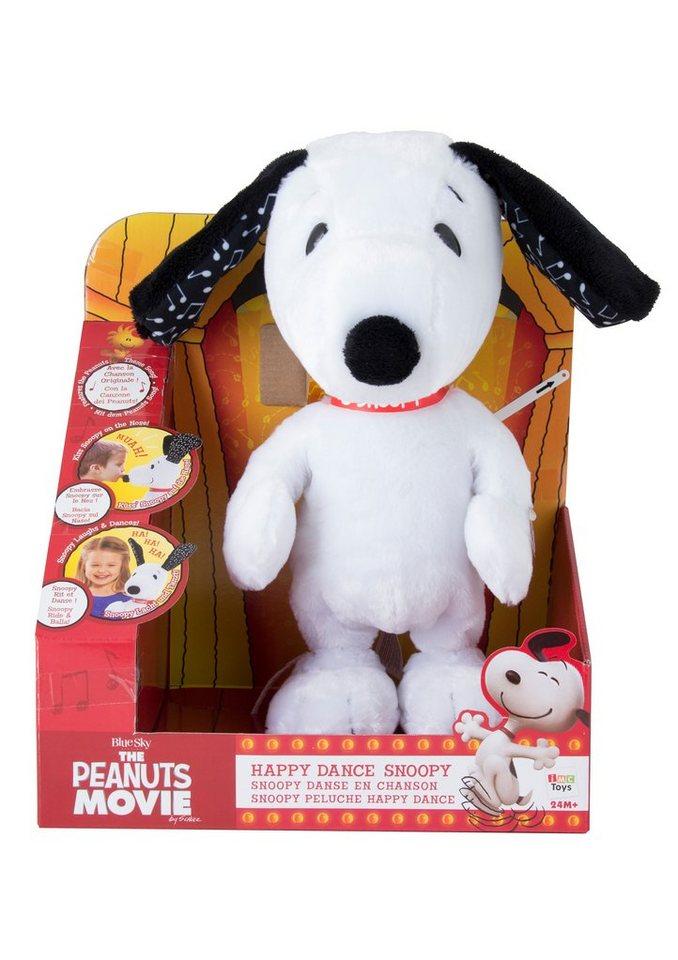 IMC Toys Plüschtier mit Funktion, »Tanzender Snoopy«