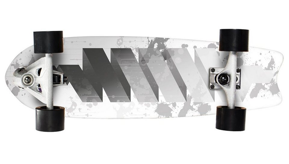 Sportplus Ezy! Carver, Skateboard, »Twist SP-SB 402« in weiß-grau