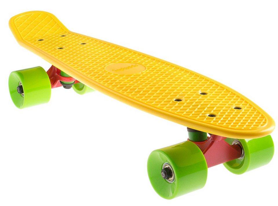 Sportplus Ezy! Mini Cruiser, Mini Skateboard, »Yellow SP-SB-305« in gelb