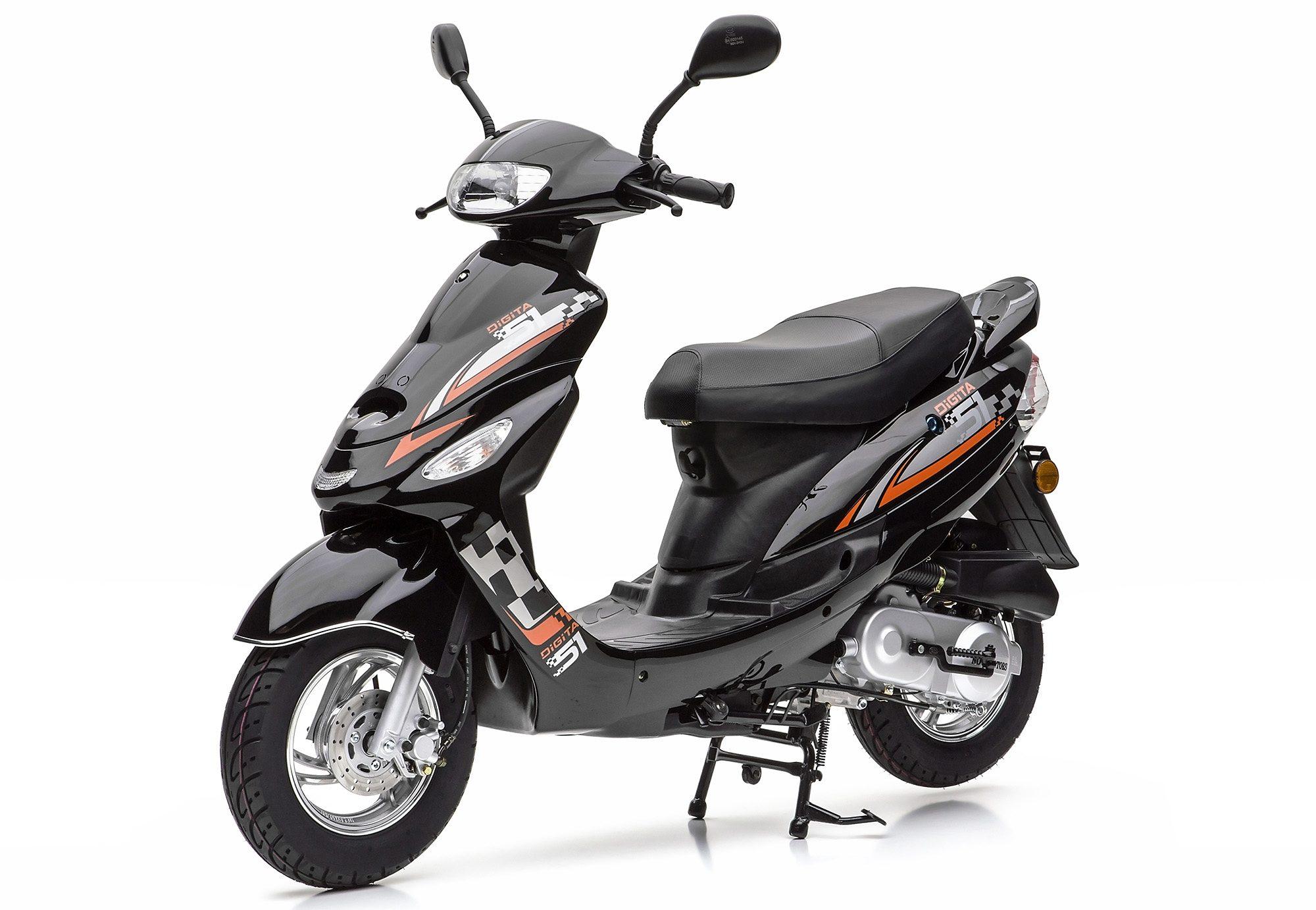 Nova Motors Mofaroller ohne Topcase, 49-ccm, 25 km/h, »City Star«