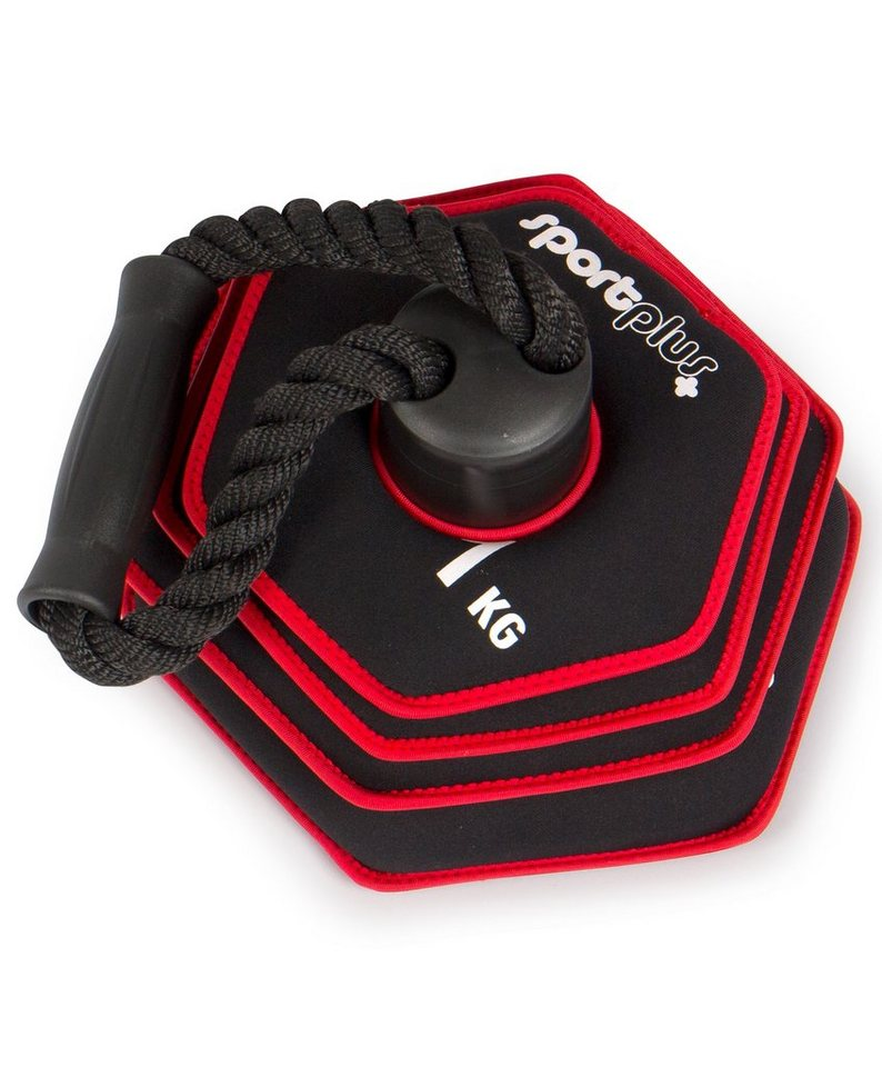 Sportplus Soft Kettlebell 10kg »SP-WS-010-KB« in schwarz-rot