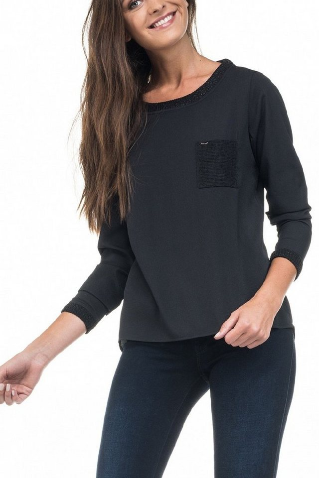 salsa jeans Pullover in Black