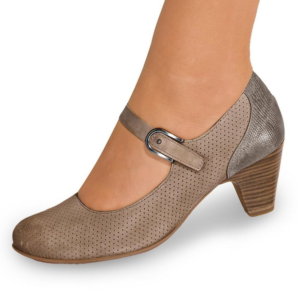 Tamaris Kapok Pumps in taupe