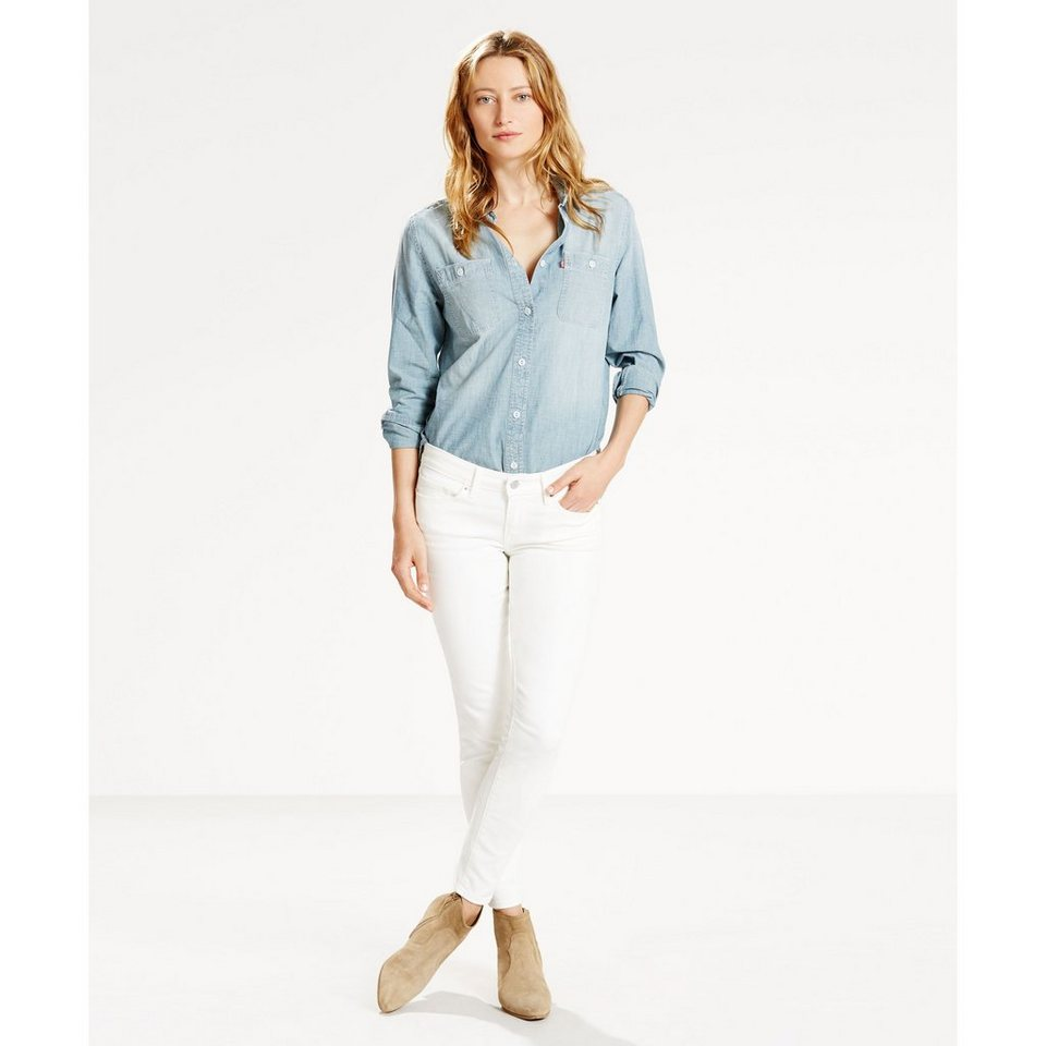 Levi's® Jeans »711 Skinny« in Snow Wash