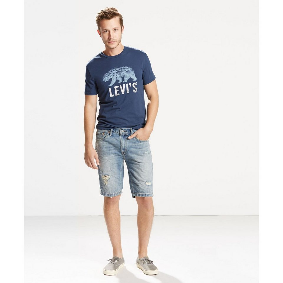 Levi's® Shorts »511 Slim Non Cut Off Short« in Sunset Junction