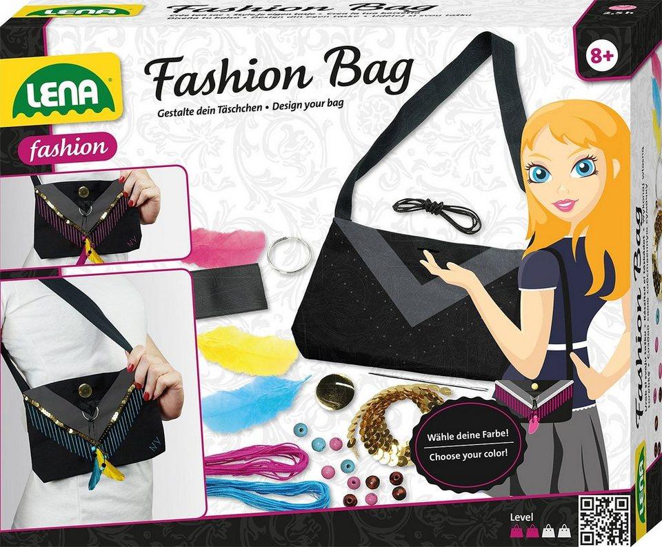 LENA® Handtasche zum selbst dekorieren, »Fashion Bag«