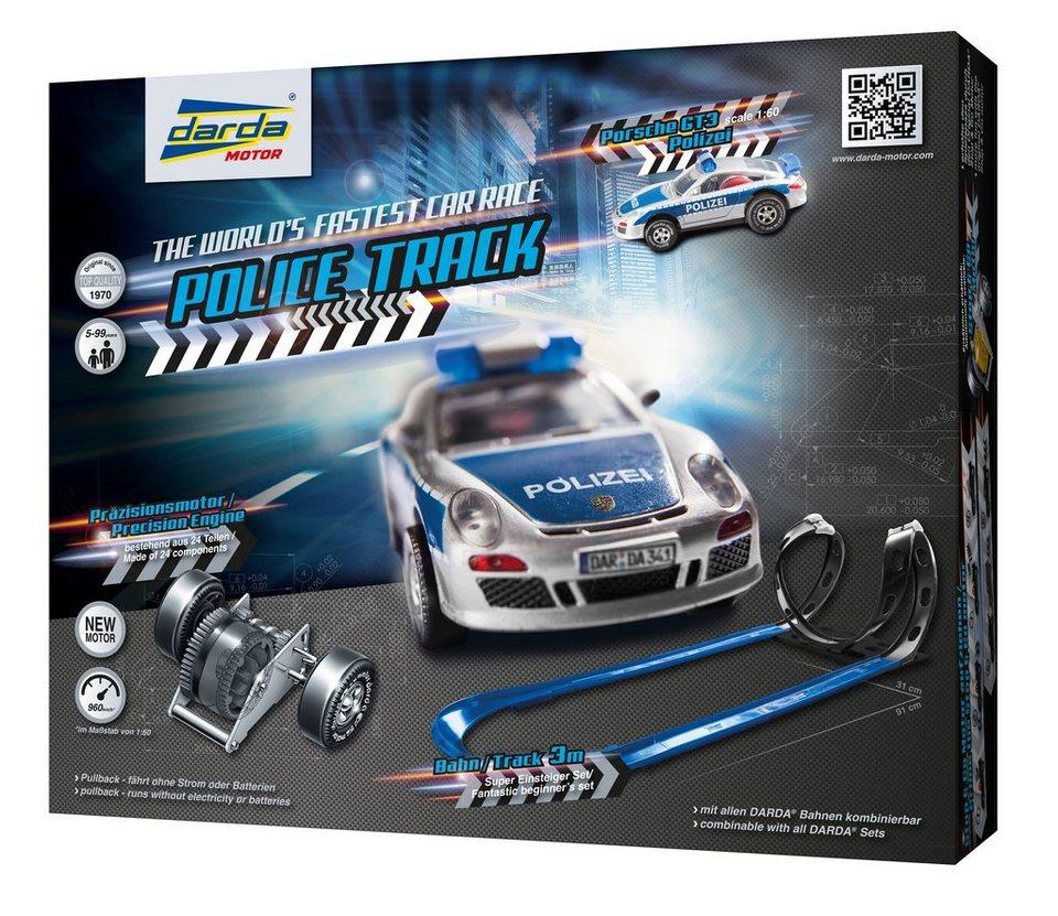 DARDA® Autorennbahn mit Auto, »Police Track«