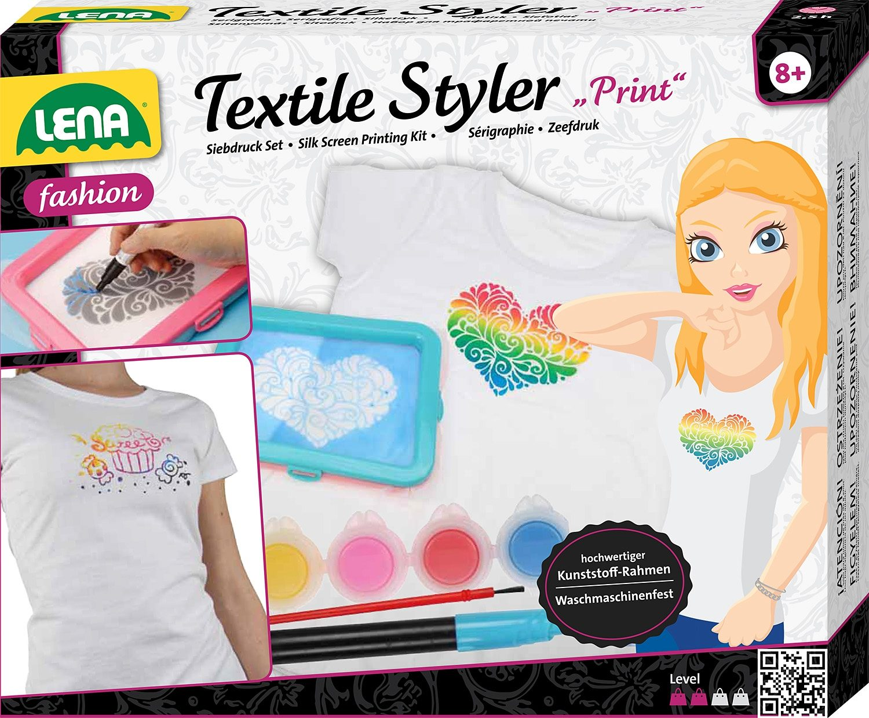 LENA® T-Shirt Design-Set, »Textile Styler Print«