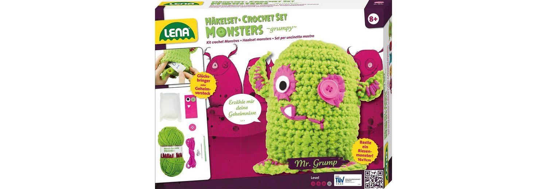 LENA® Häkelset, »Monsters grumpy«