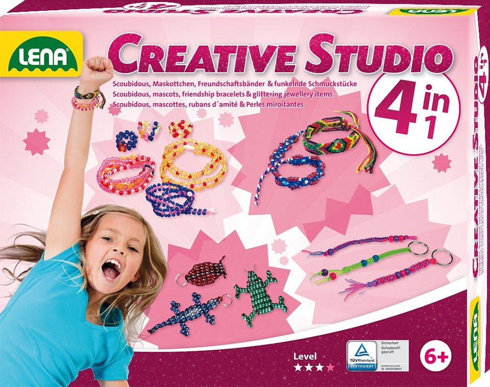 LENA® Schmuck Kreativset, »Creative Studio 4 in 1«