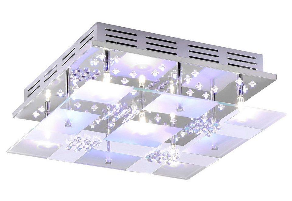 leuchten direkt led deckenleuchte linus kaufen otto. Black Bedroom Furniture Sets. Home Design Ideas