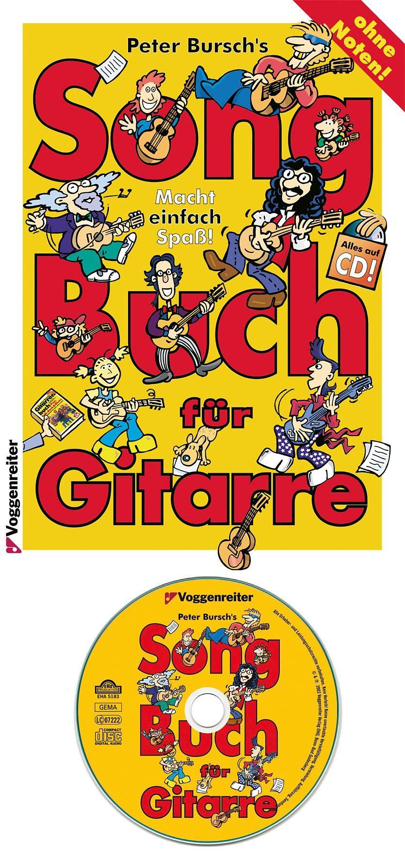 Voggenreiter Gitarre lernen mit Peter Bursch, »Song Buch für Gitarre«