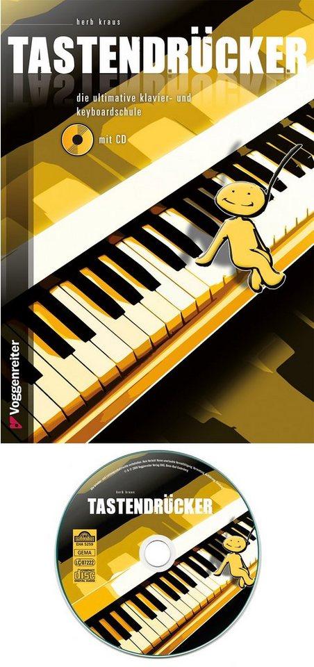Voggenreiter Klavier und Keyboard Lehrbuch, »Tastendrücker«