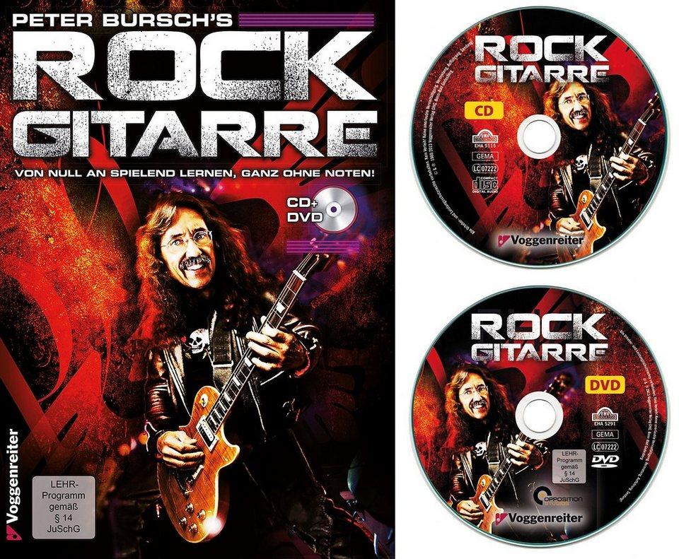Voggenreiter Rock-Gitarre Lehrbuch, »Peter Bursch´s Rock Gitarre«
