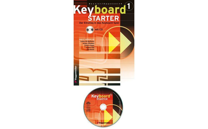 Voggenreiter Keyboard Lehrbuch, »Keyboard-Starter 1«