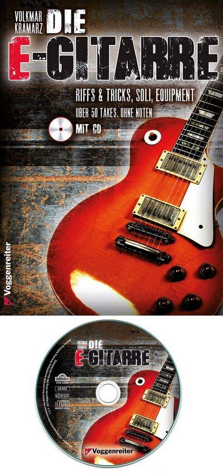 Voggenreiter E-Gitarrenbuch, »Die E-Gitarre« in gelb