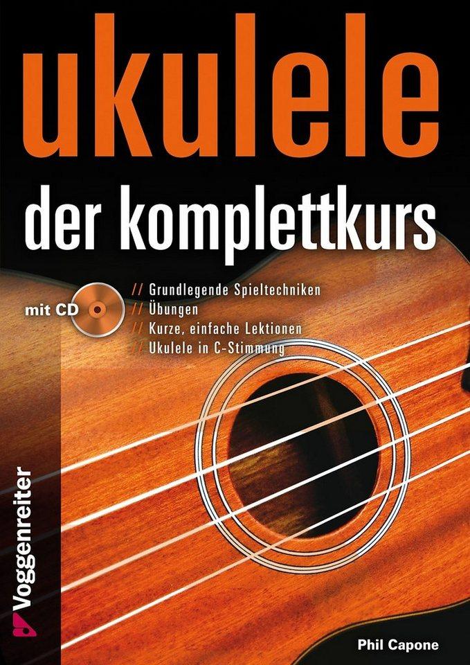 Voggenreiter Ukulele Lernbuch, »Ukulele - Der Komplettkurs«