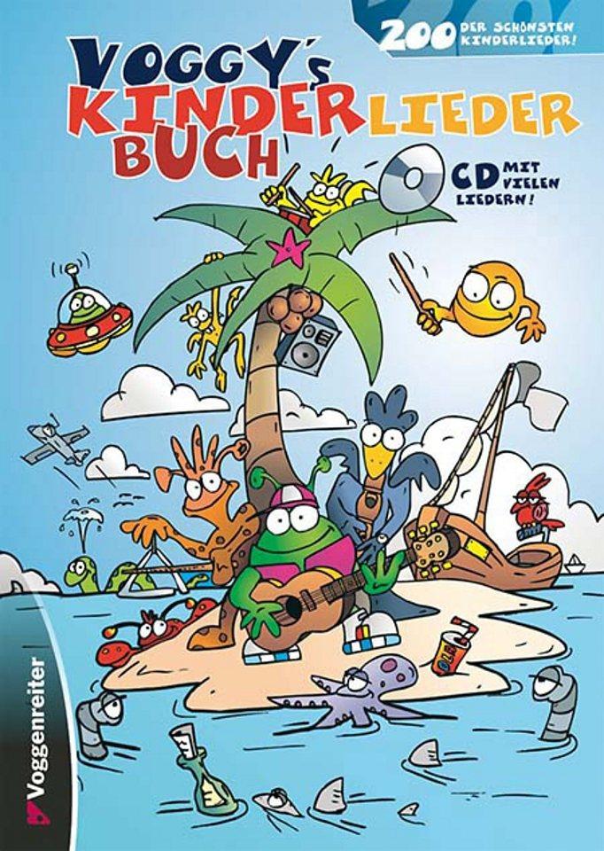 Voggenreiter Liederbuch für Gitarre und Keyboard, »Voggys Kinderliederbuch«