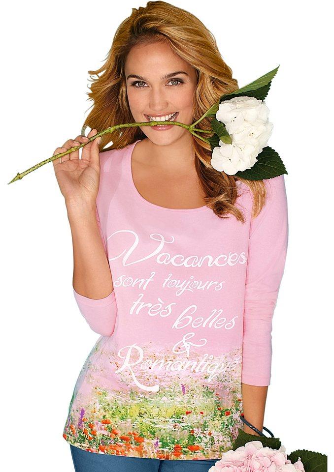 Classic Inspirationen Shirt in rosé-bedruckt