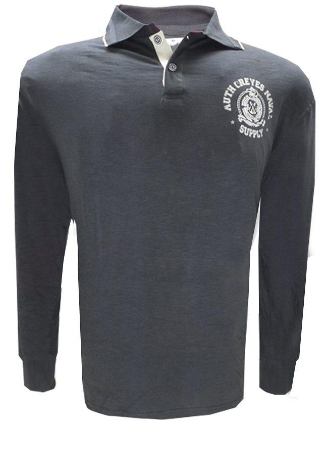 greyes Greyes Poloshirt in Grau