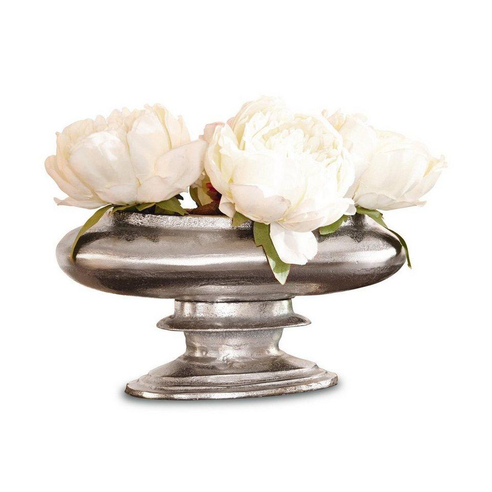 Loberon Vase »Loyère« in antiksilber