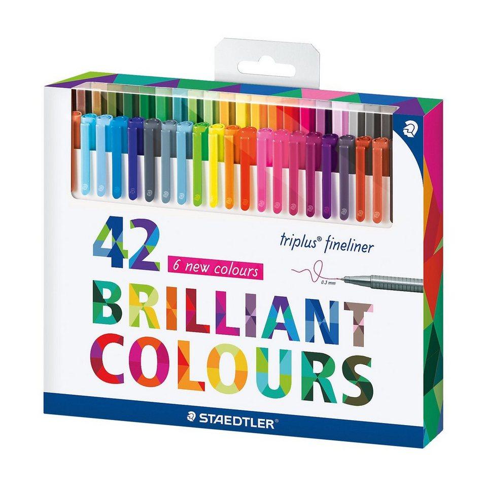 Staedtler Fineliner triplus, 42 Farben