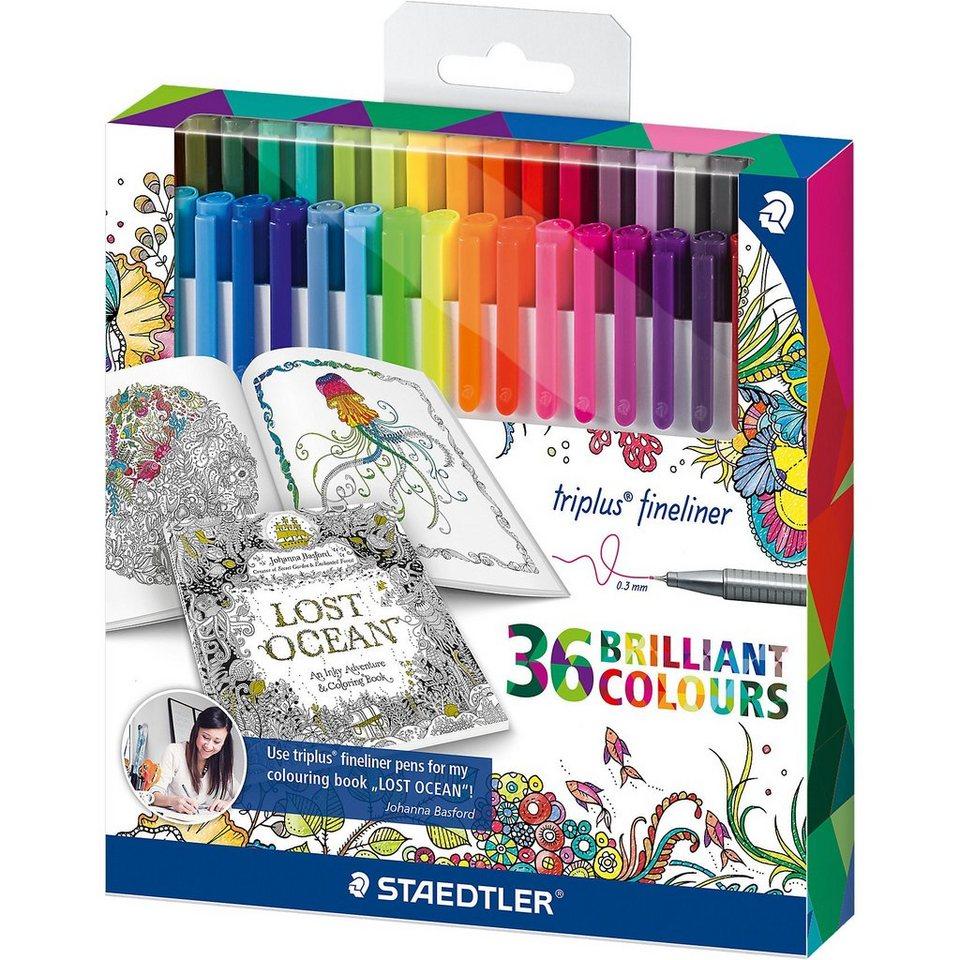 Staedtler Triplus Fineliner Pens Color Pack